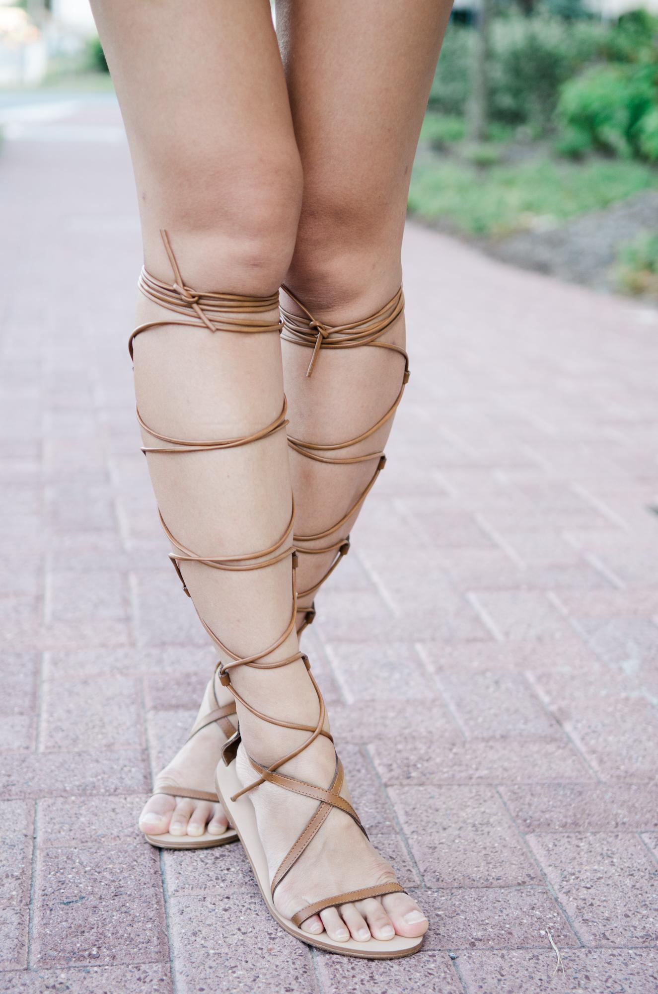 forever 21 gladiator sandals