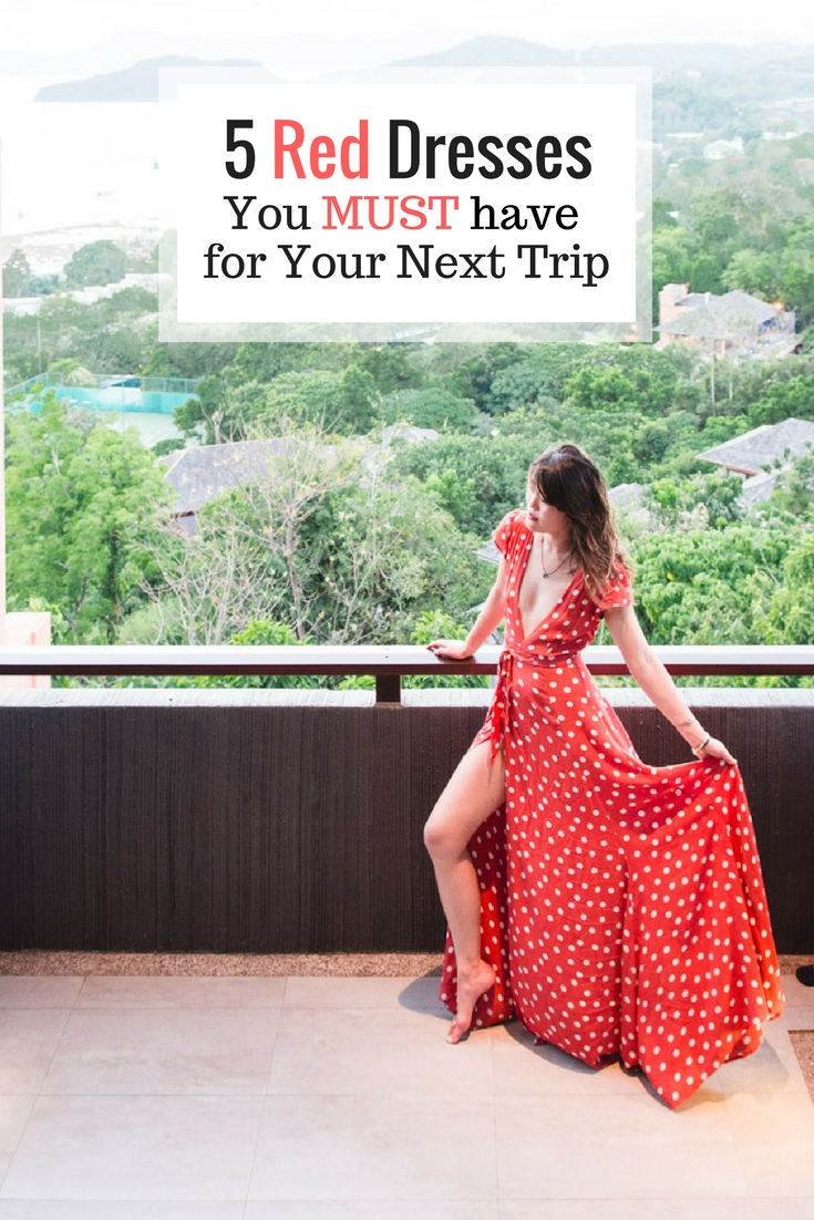 Instagrammable Red Dresses you don't want to miss