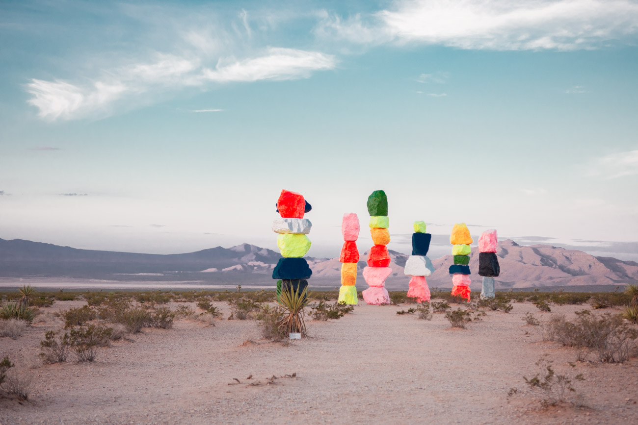 7 magic mountains sunrise