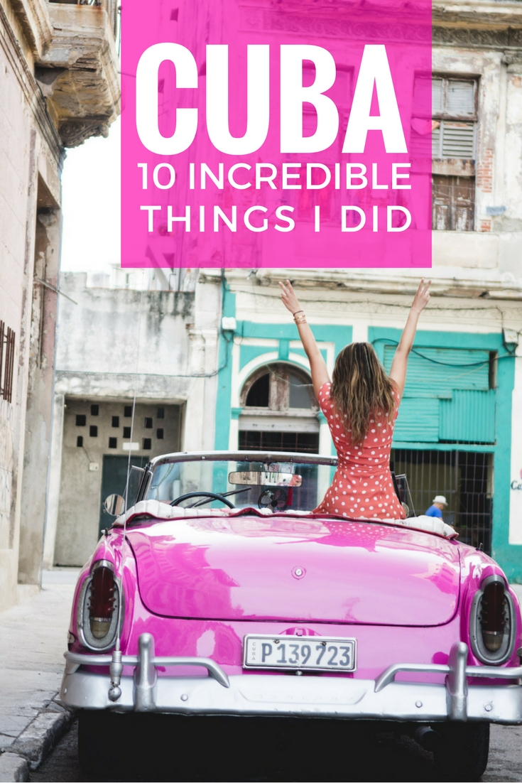 cuba best things to do