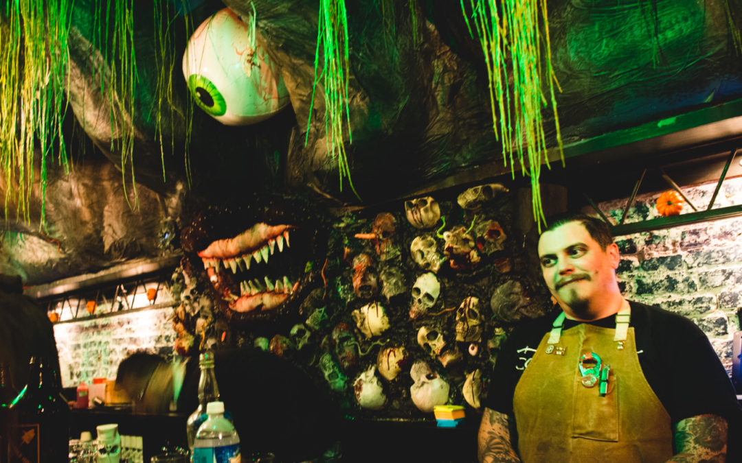 Epic Halloween Pop Up Bar Opens in Washington DC | Pub Dread