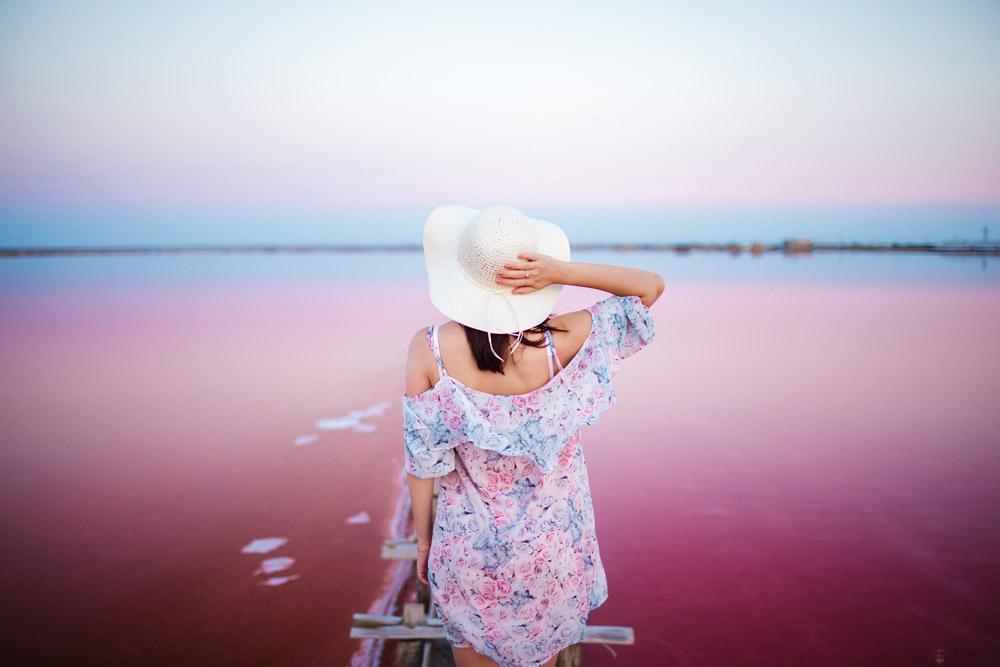 Las Coloradas Pink Lagoon