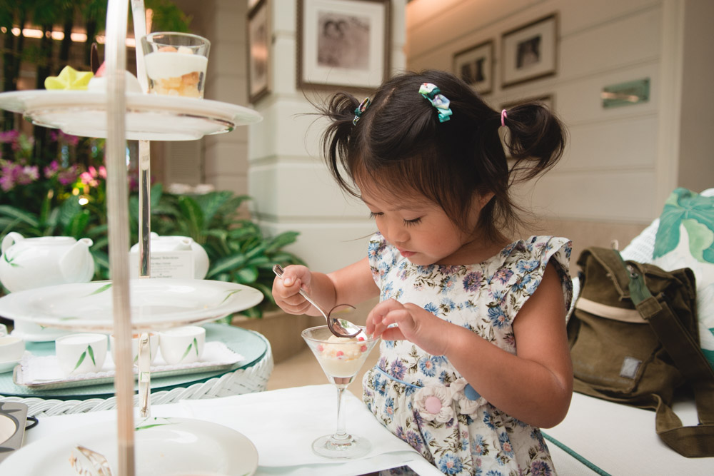 mandarin oriental tea bangkok with kids