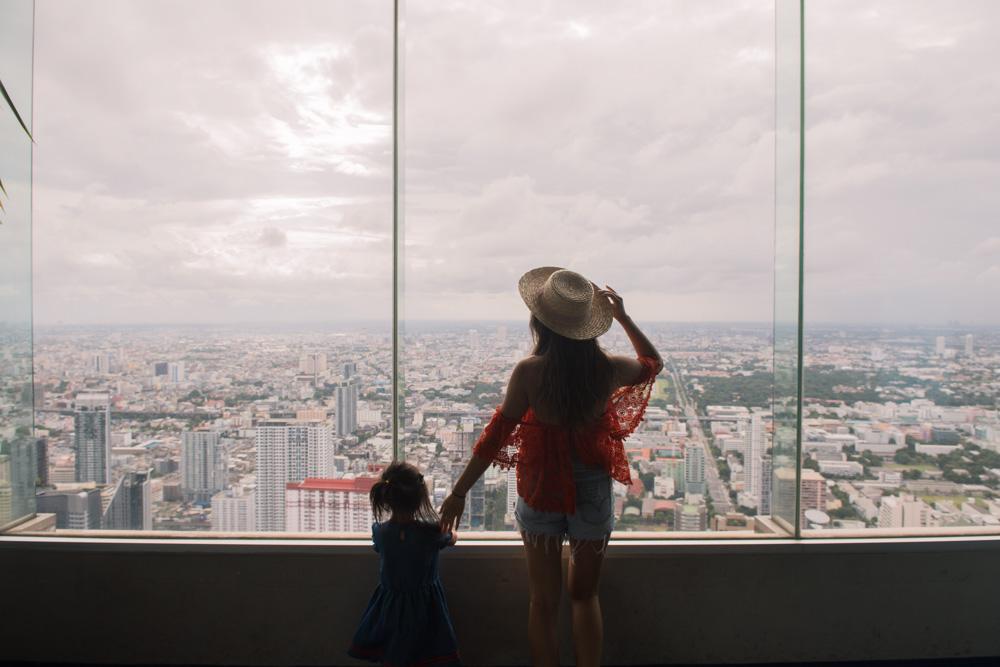 baiyoke tower view