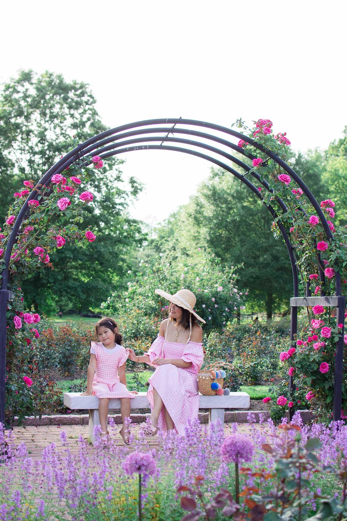 bon air rose garden