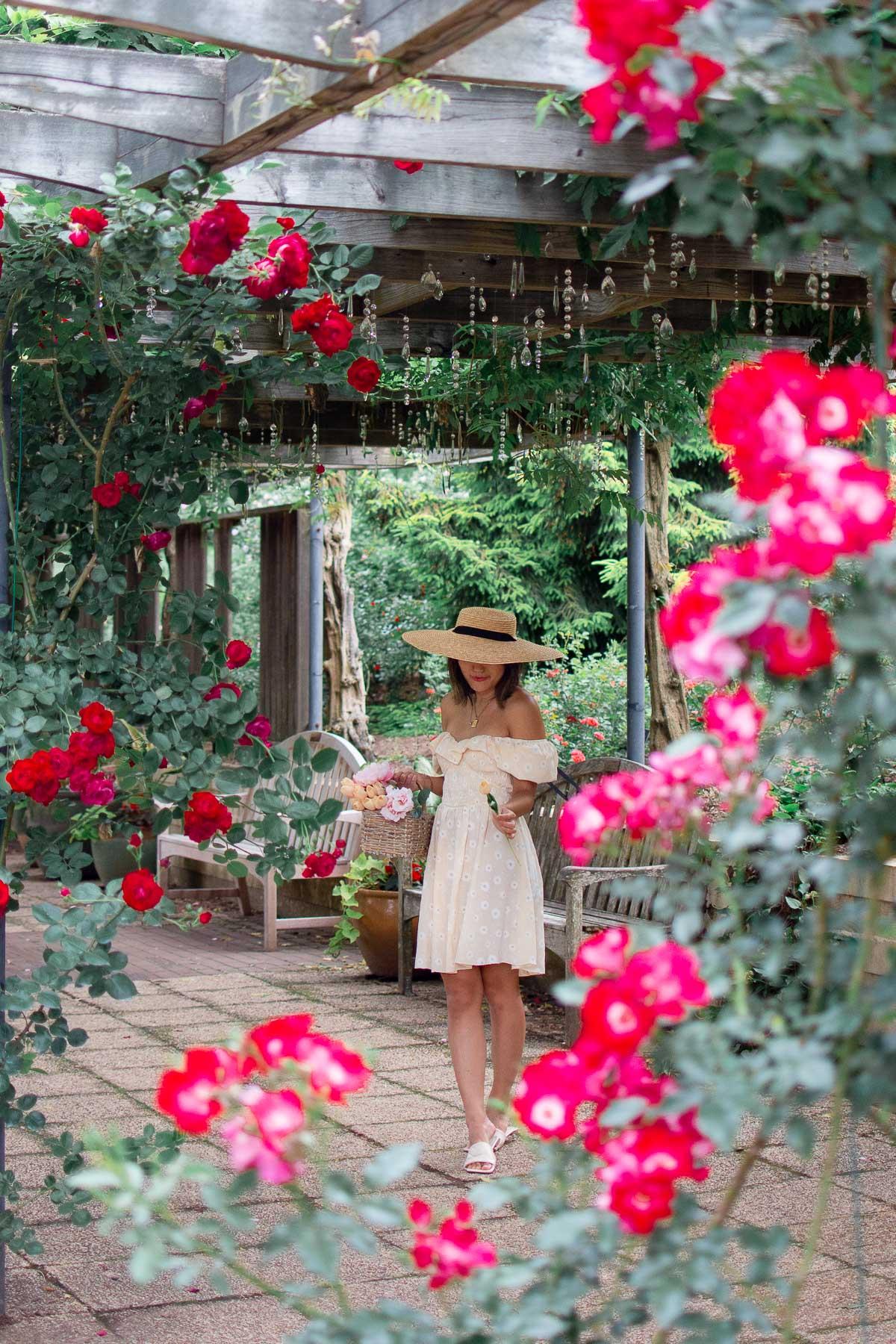 brookside rose arbor