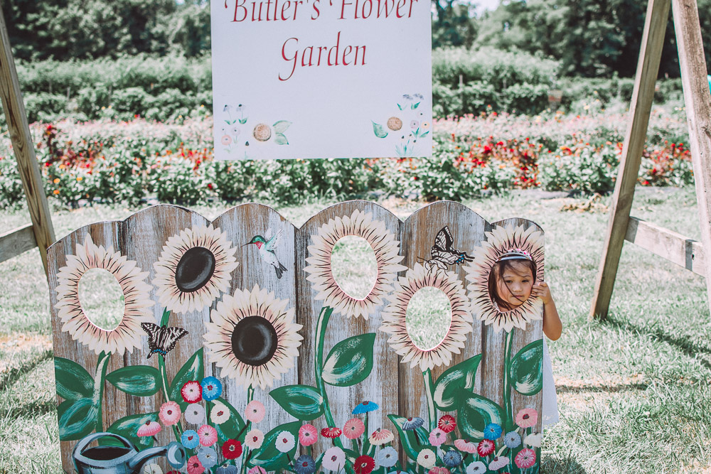 butlers flower garden