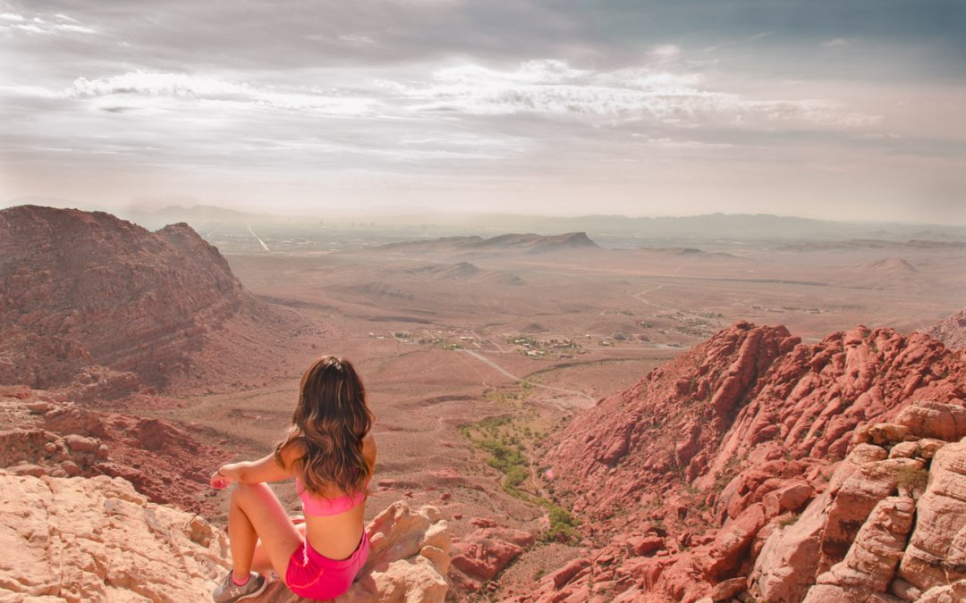 The Hike with the Best View in Red Rock Canyon | Calico Tanks