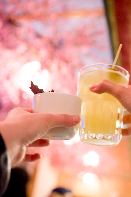 cherry blossom bar drinks review