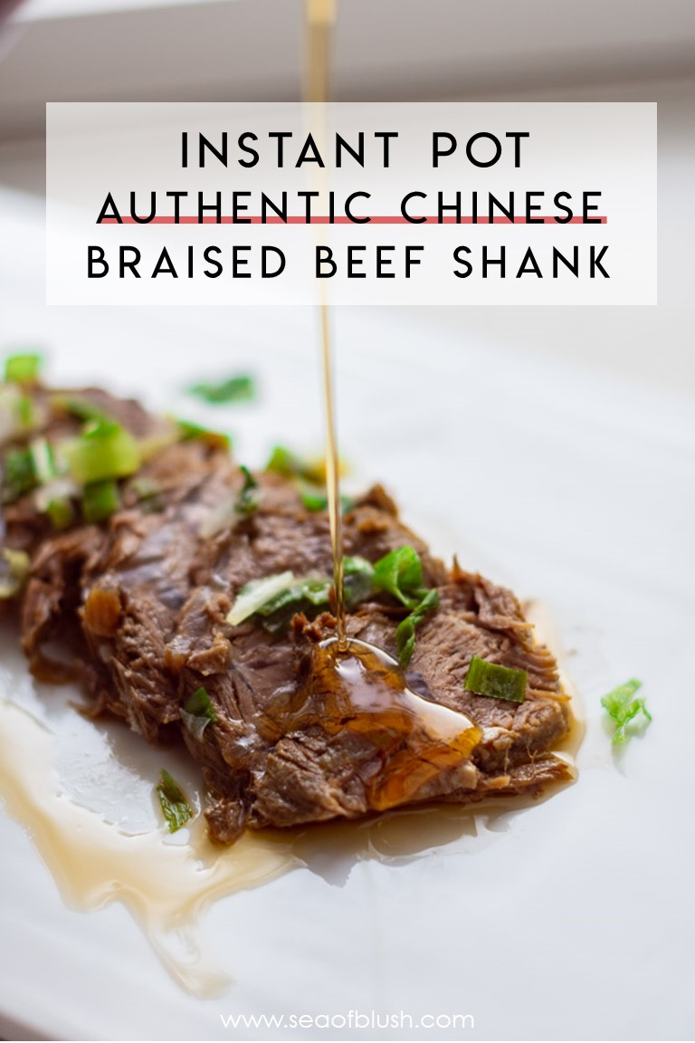 chinese braised beef shank instant pot