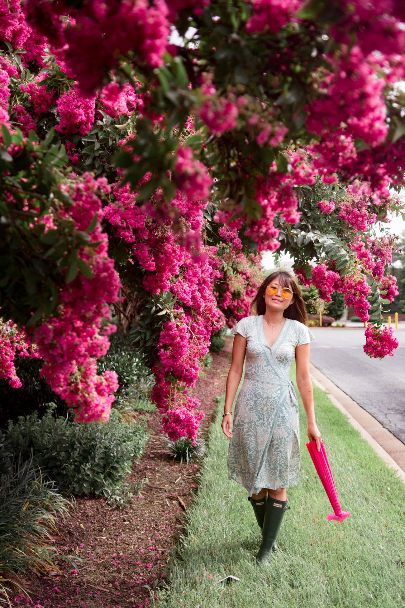 where to take instagram photos with flowers dc