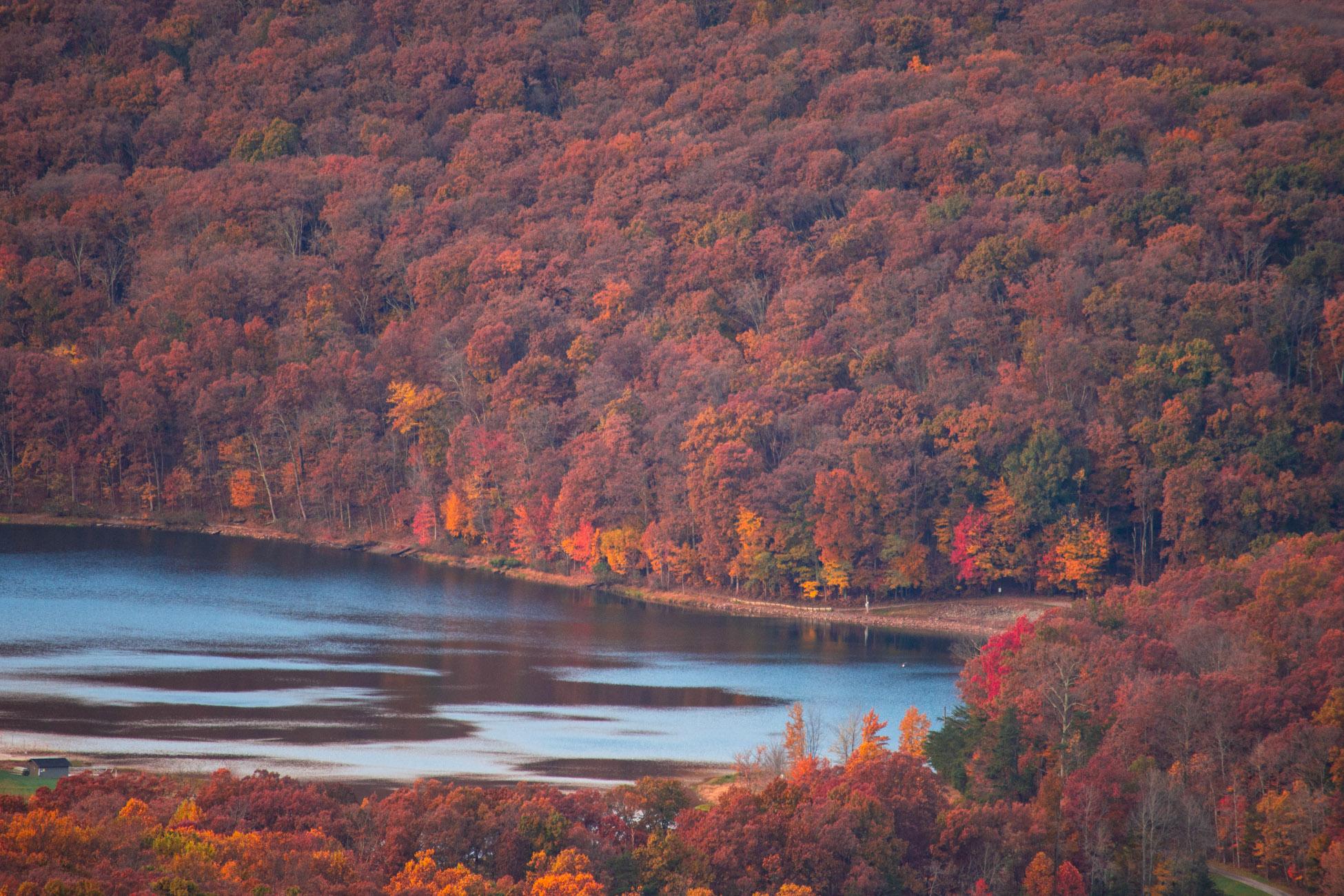 best fall hike in dc