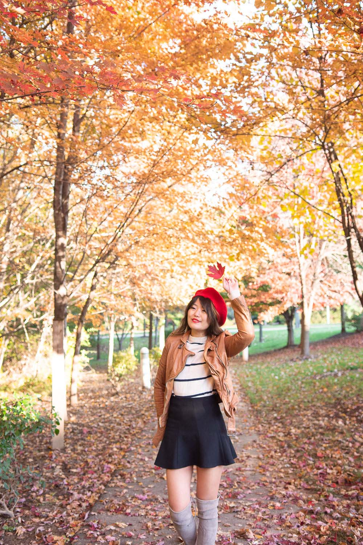 fall photo shoot ideas