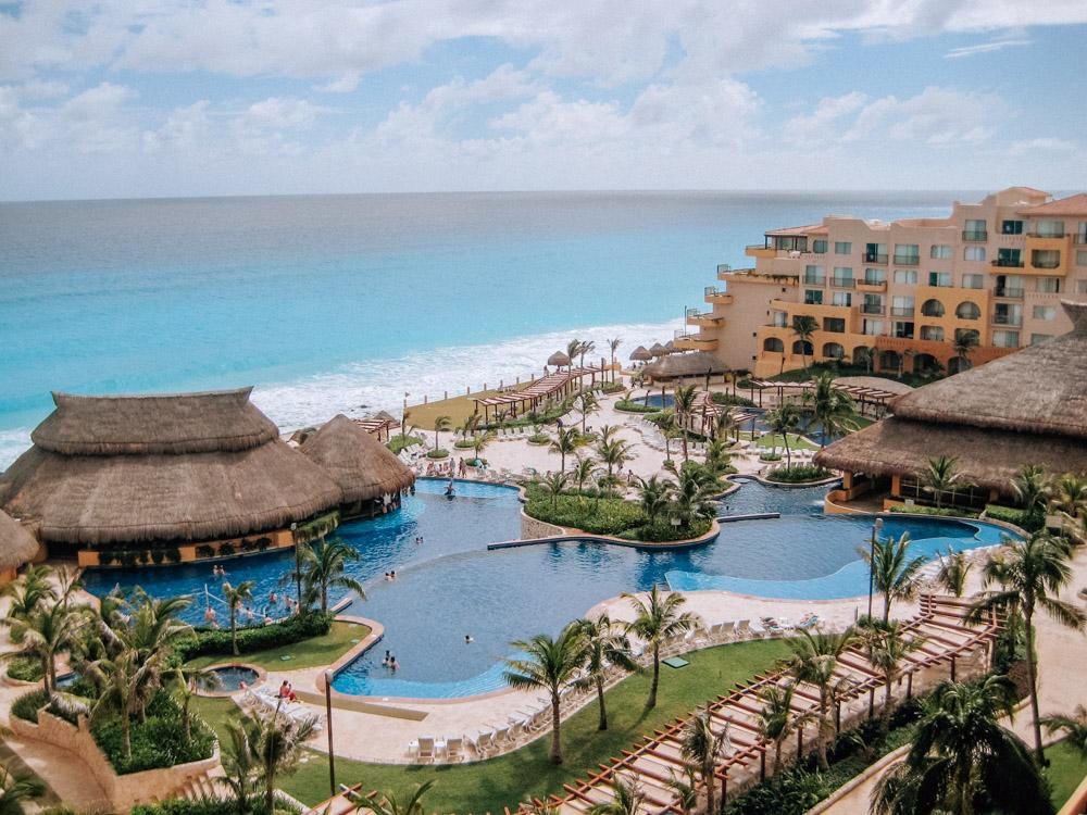 fiesta americana cancun room view