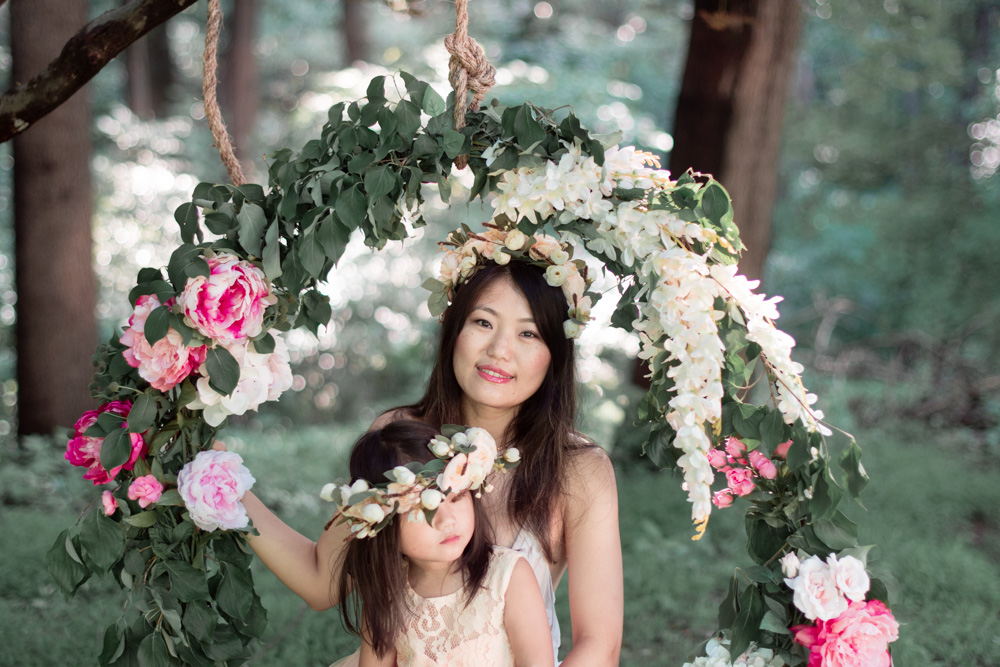 How to Build a Flower Swing for under $50