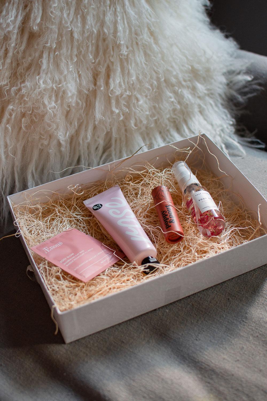 giften maraket pink gift set