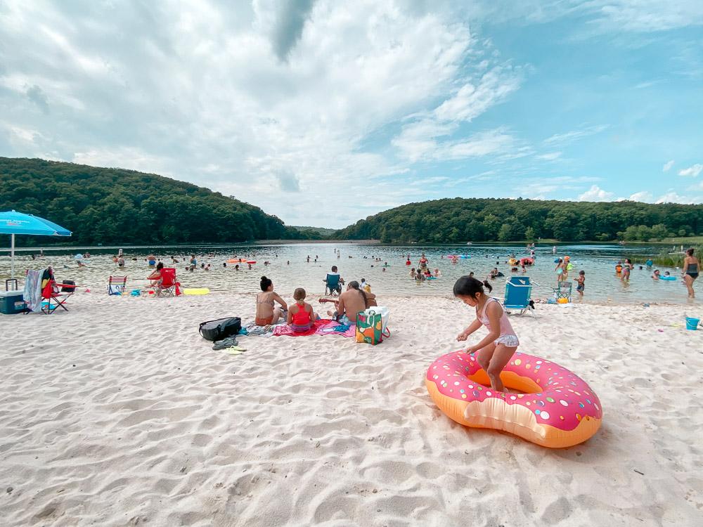 greenbrier state park beach