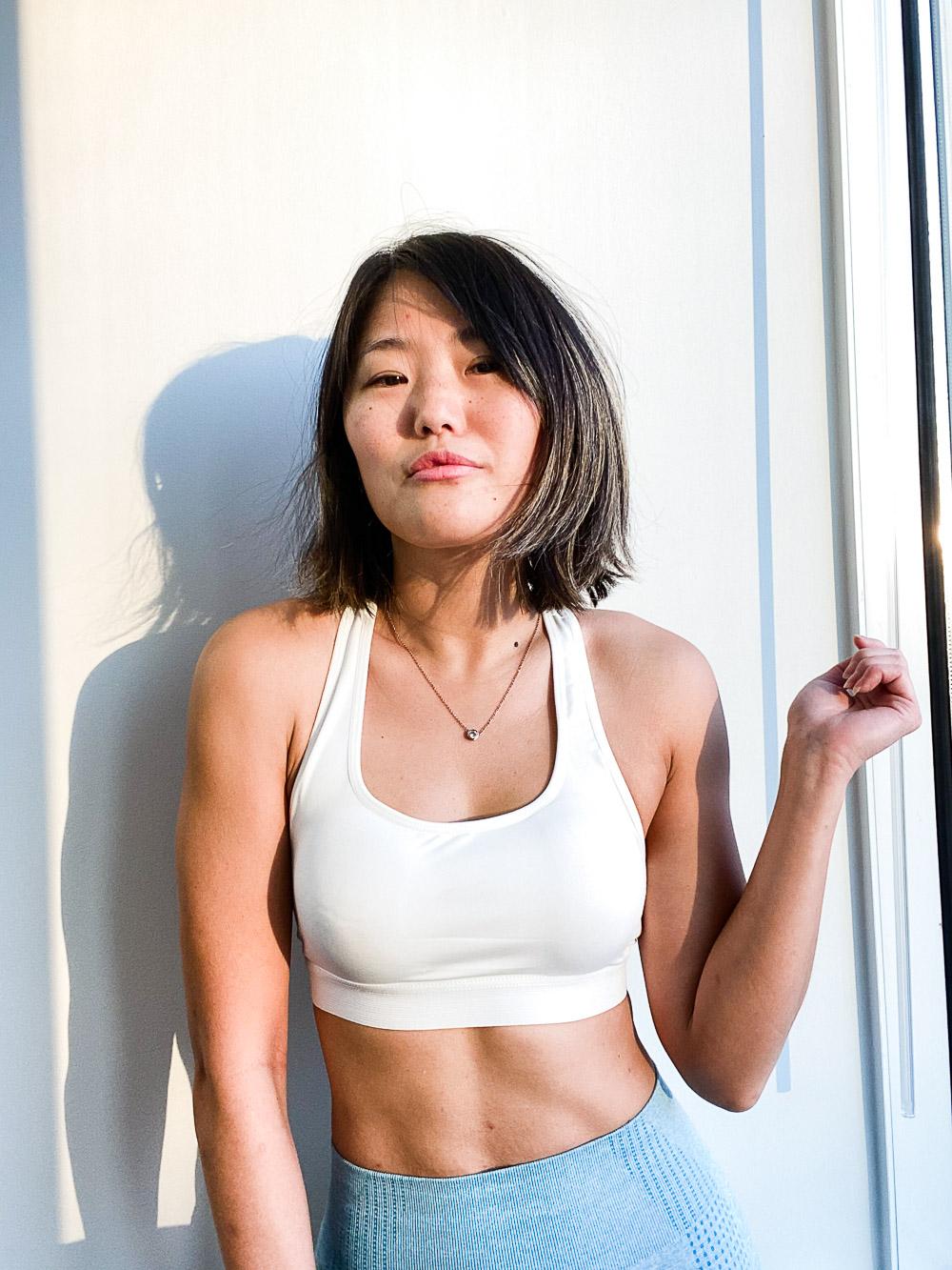 kpop 90 degree shoulders
