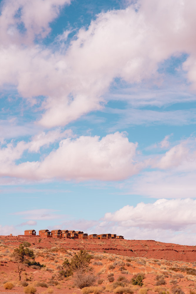 monument valley the view cabins