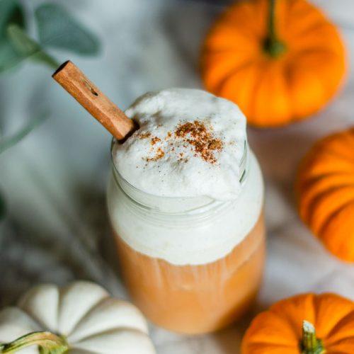 pumpkin cream cold brew