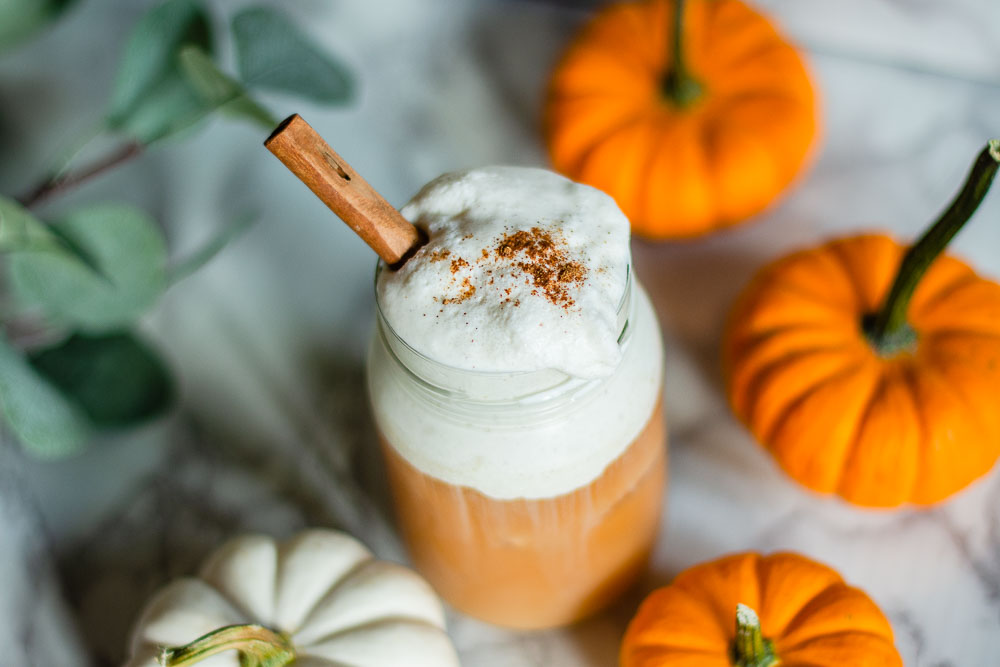 pumpkin cream cold brew