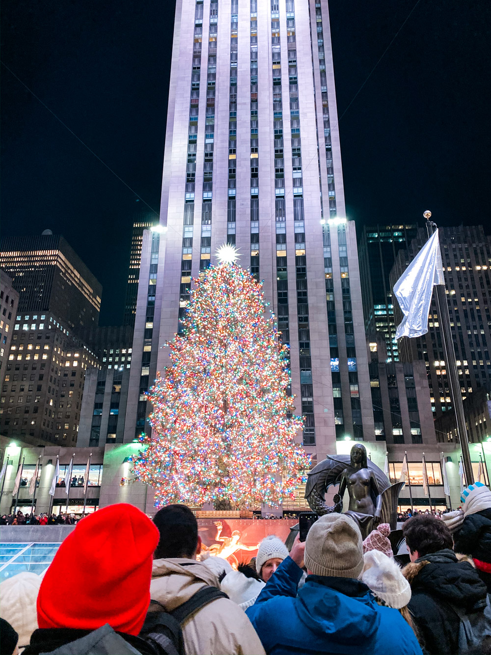 rockefeller tree christmas new york
