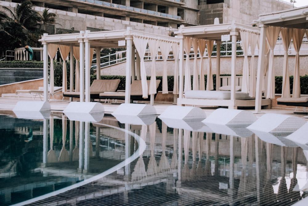 sandos cancun pool