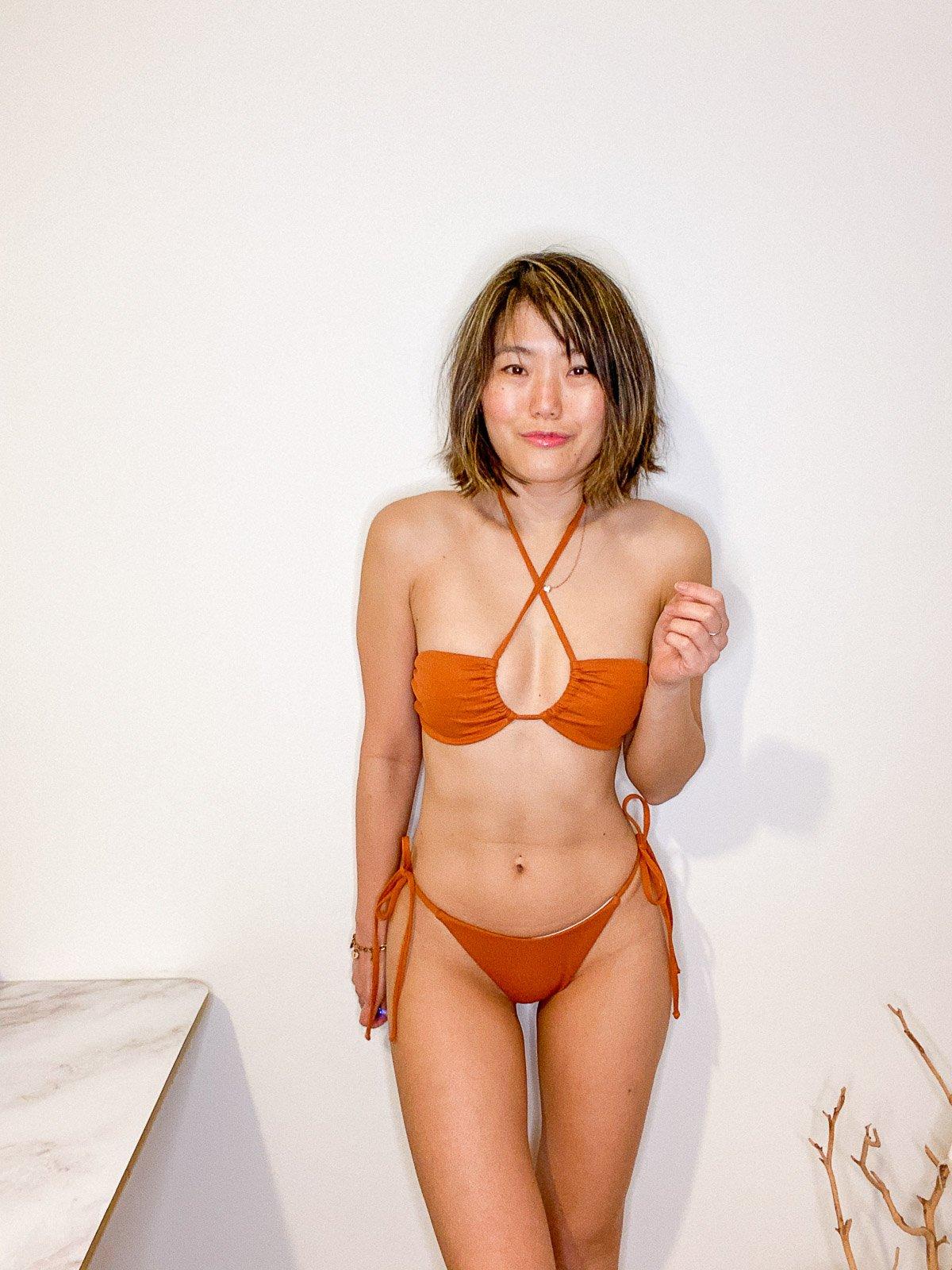 shein halter bikini
