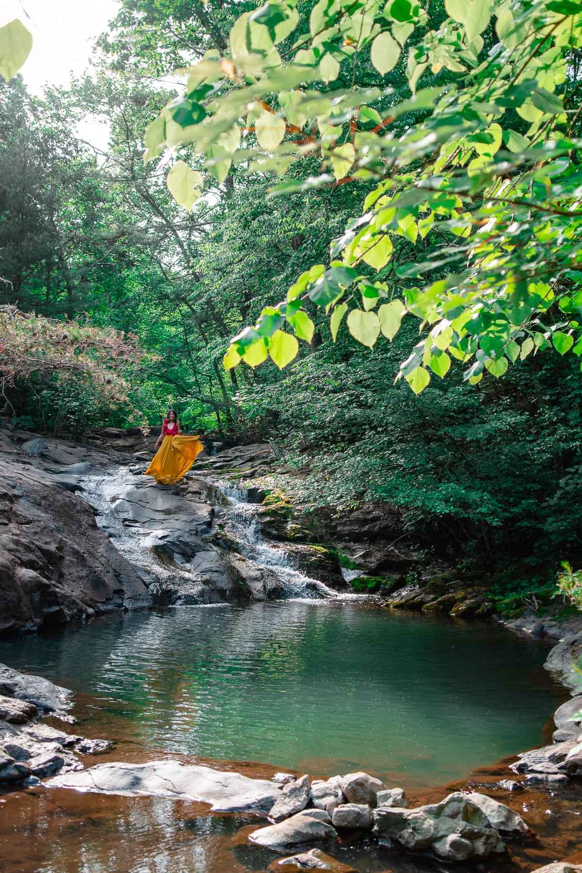 shenandoah state park waterfalls