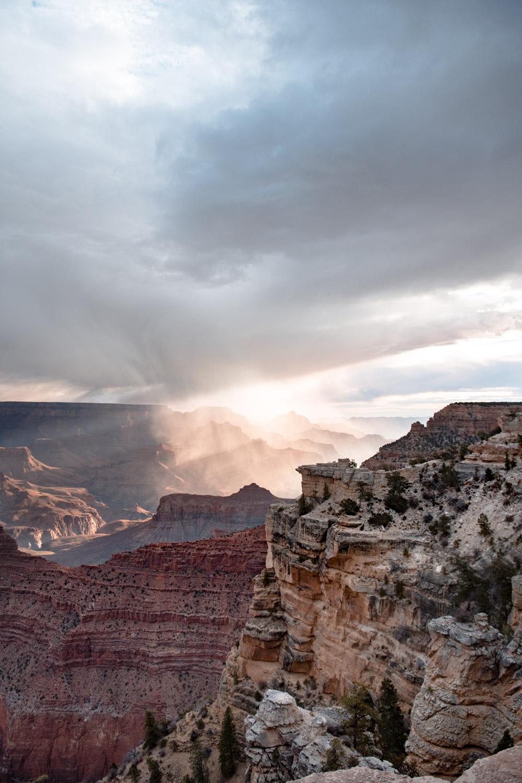 sunrise grand canyon