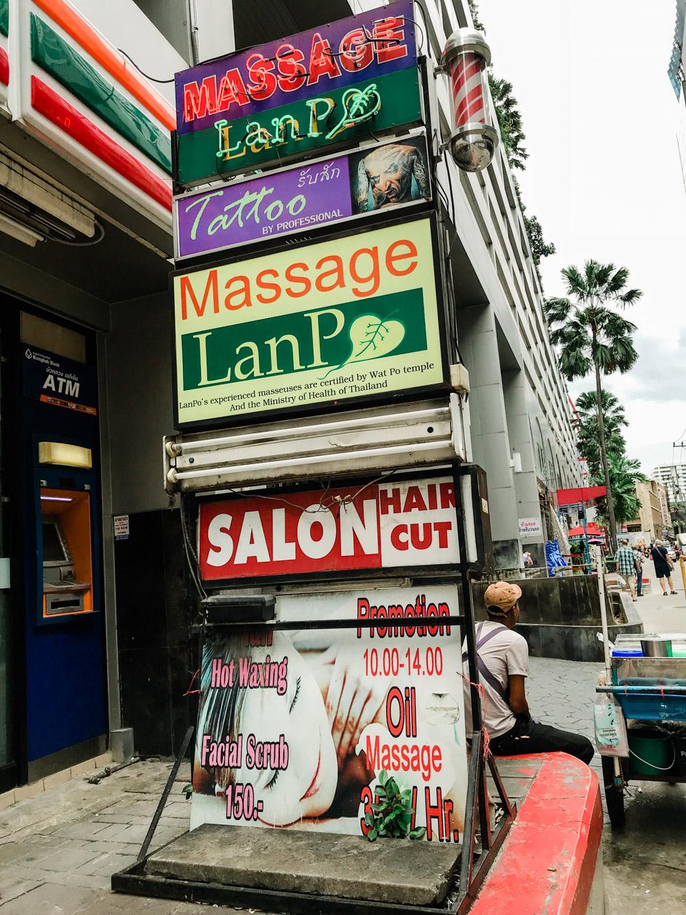 thai massage bangkok
