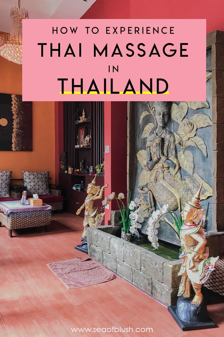 thai massage thailand