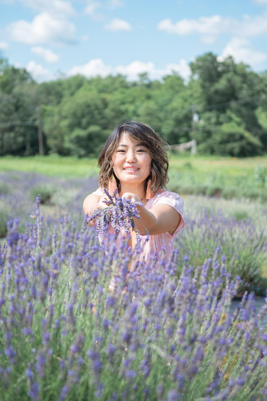 virginia lavender farm photography