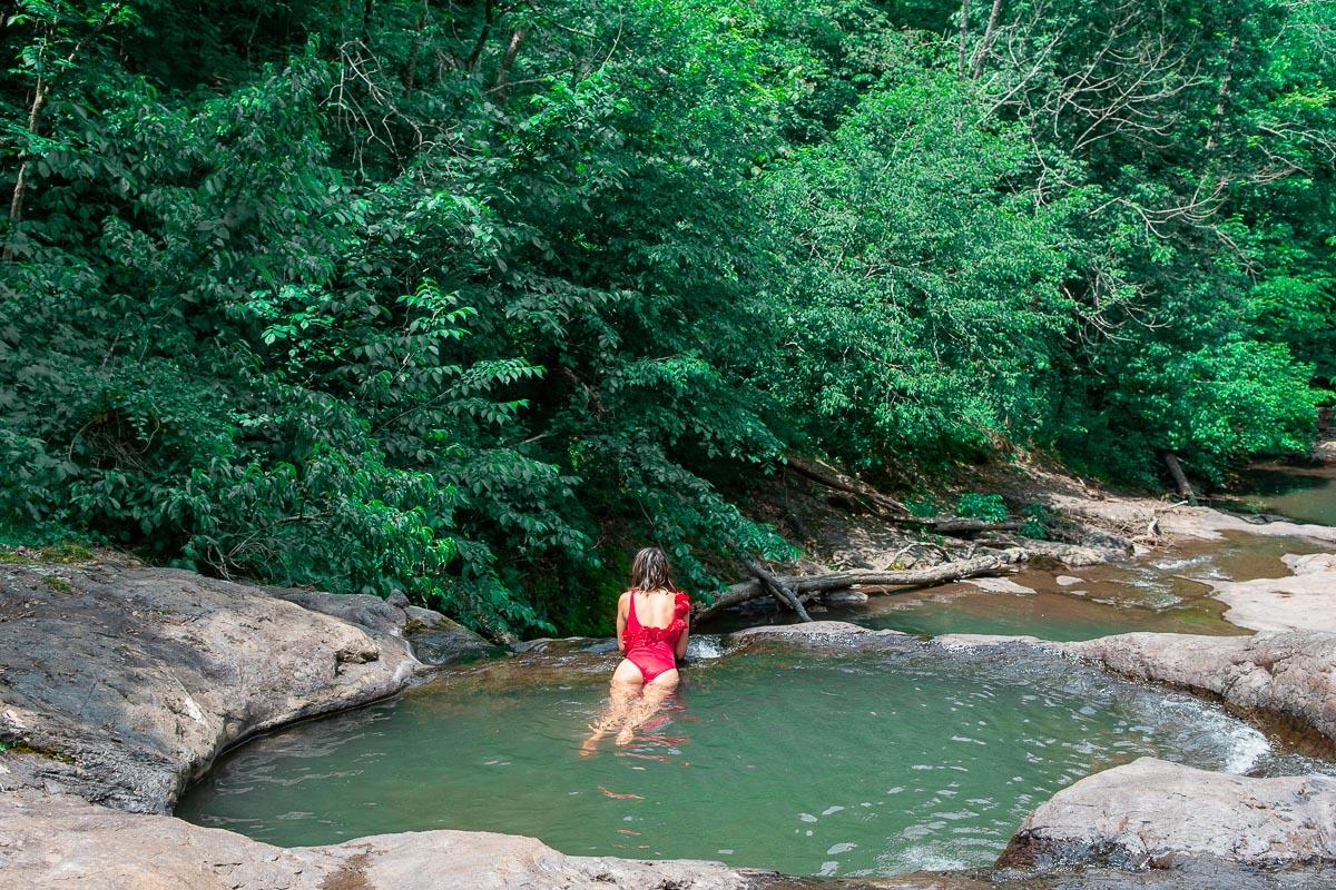 waterfall shenandoah national park