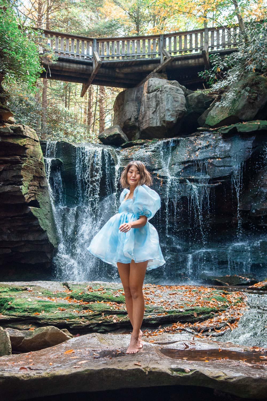 waterfall west virginia