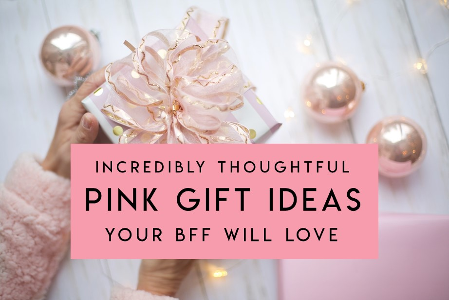 Blush Pink Gift Ideas Your Bestie Will Love
