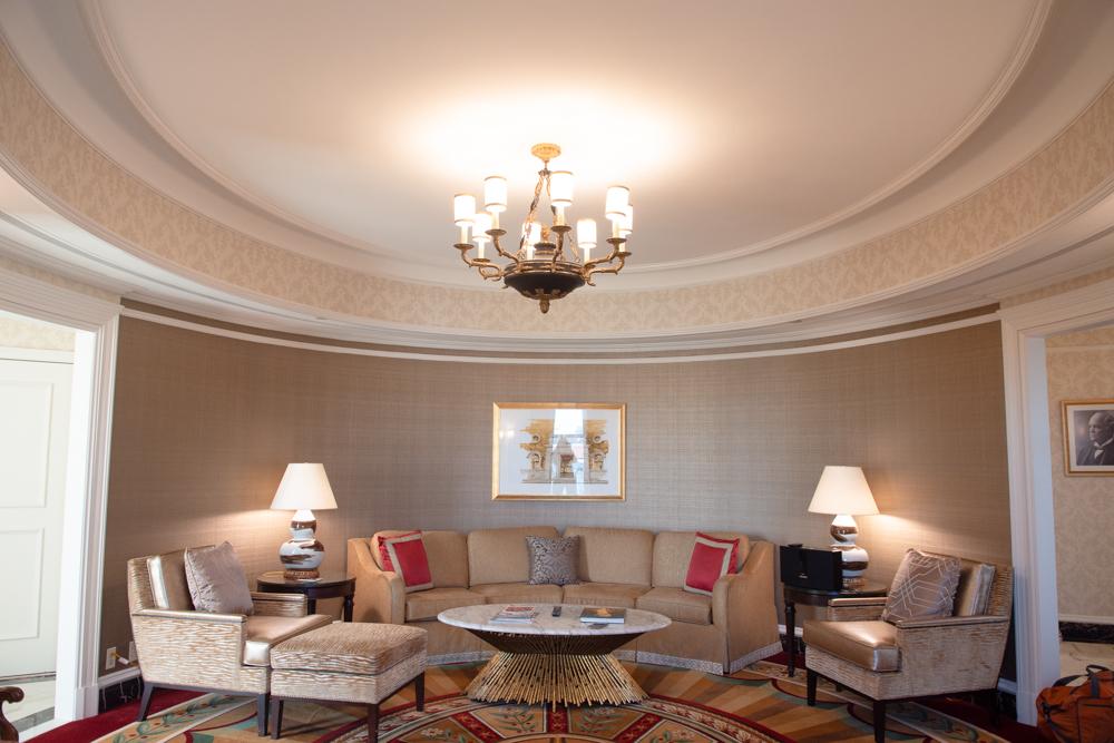 willard intercontinental oval suite