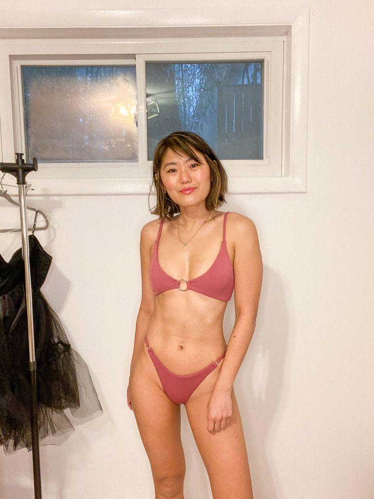 zaful high leg bikini